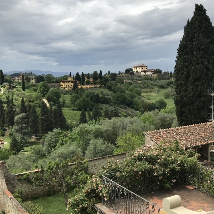 Our amazing view from every angle of the villa!
