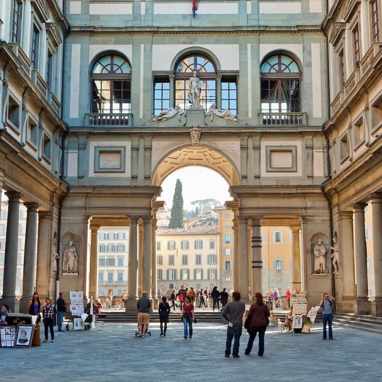 The Neighborhood: Uffizi Gallery